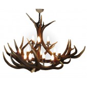 Antler Chandelier 12 light Pendant