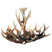 Antler Chandelier 9 light Pendant