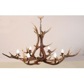 Antler Chandelier 6 light Pendant