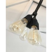 CLUSTER Five Light Pendant 2m PVC