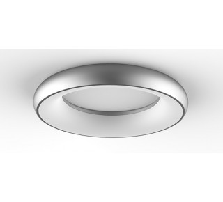 Bombolini LED Ceiling 400mm dia 35 watt Silver