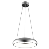 Bombolini LED Pendant 400mm dia 35 watt Silver