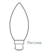 CANDLE LAMP 47mm 60w PLAIN FROSTED