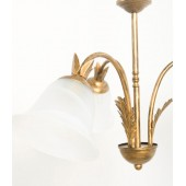 CARCINA Ceiling 3 Light Multi-arm ALABASTER Glass