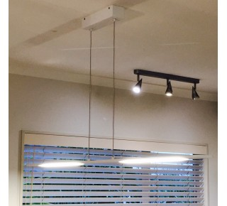 Gandino LED 1200mm Linear Pendant