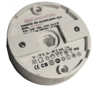 60w Electronic Transformer Round