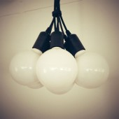CLUSTER Five Light Pendant 1m CLOTH