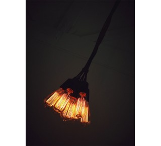 CLUSTER Seven Light Pendant 1m CLOTH