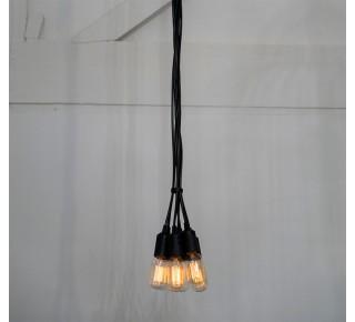 CLUSTER Seven Light Pendant 2m PVC