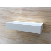 Villari LED Wall Uplight 180 Matt White Dimmable
