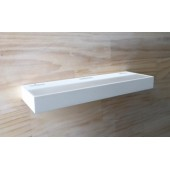 Villari LED Wall Uplight 320 Matt White Dimmable