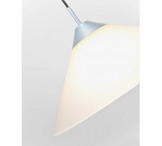 PYRAMID PENDANT 480mm SATIN Glass