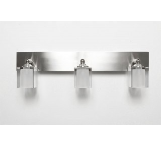 Krypton Crystal 3 Light Vanity/Ceiling